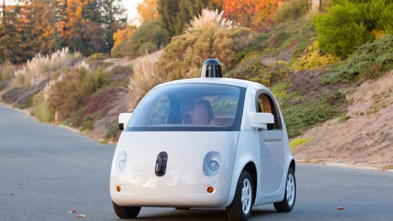 Google reveals the prototype of its self-driving car.