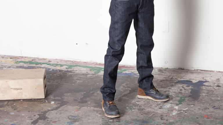 3Sixteen's new CT-100x Classic Tapered Jean