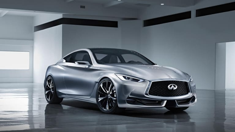 Infiniti previews its next generation coupe with the Q60 Concept