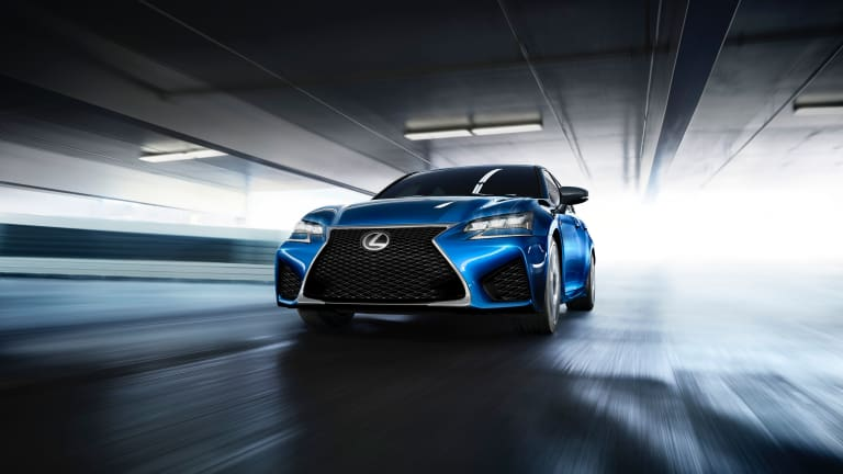 Lexus announces the 467-hp GS F