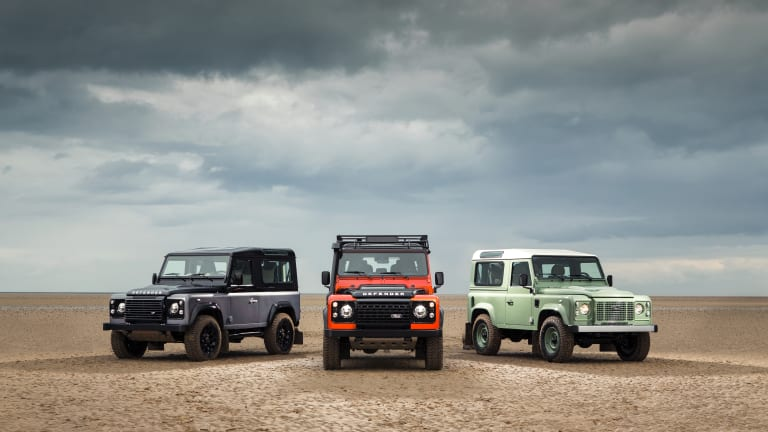 Land Rover launches a limited edition trio of Defenders for its final production year