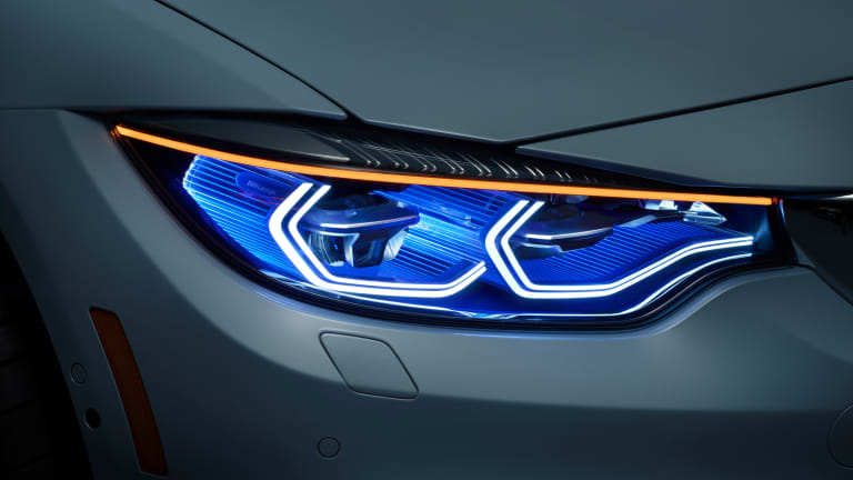 Beyond Xenon: BMW's M4 Concept Iconic Lights
