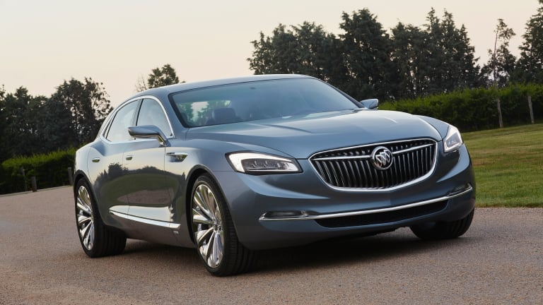 Buick brings back the grandeur with the Avenir Concept