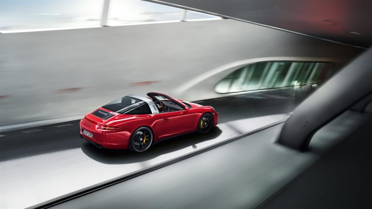The Porsche Targa 4 GTS