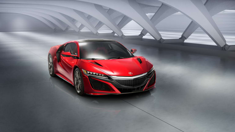 Acura reveals the 2016 NSX