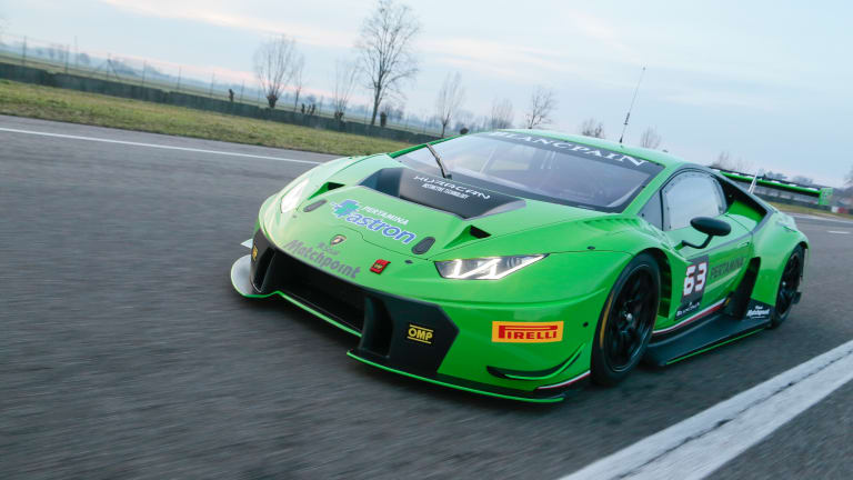 The Lamborghini Huracan GT3