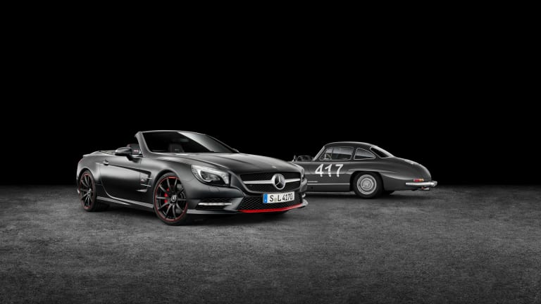 "Mercedes Benz SL ""Mille Miglia 417"" Edition"