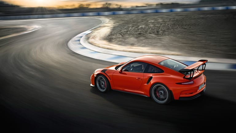 Porsche's new street-legal, track monster, the 911 GT3 RS
