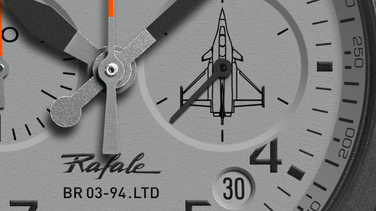 Bell & Ross x Rafale and the new BR 03