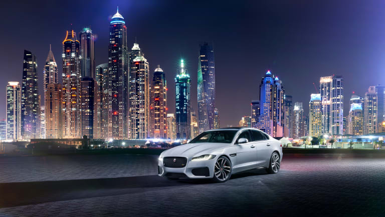 The 2016 Jaguar XF