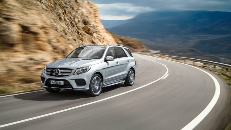 The Mercedes Benz GLE