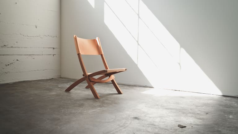 Tanner Goods' Natural Nokori Folding Chair