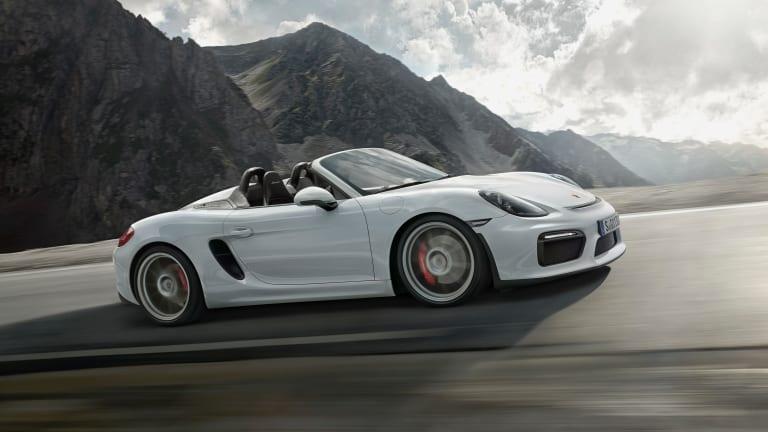 The 2016 Porsche Boxster Spyder