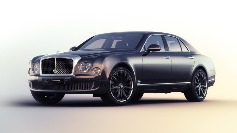 "The Bentley Mulsanne Speed ""Blue Train"""