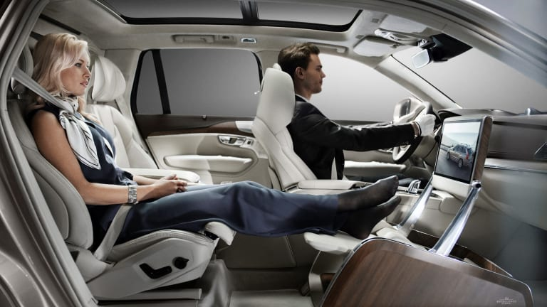Volvo brings first class seating to the XC90