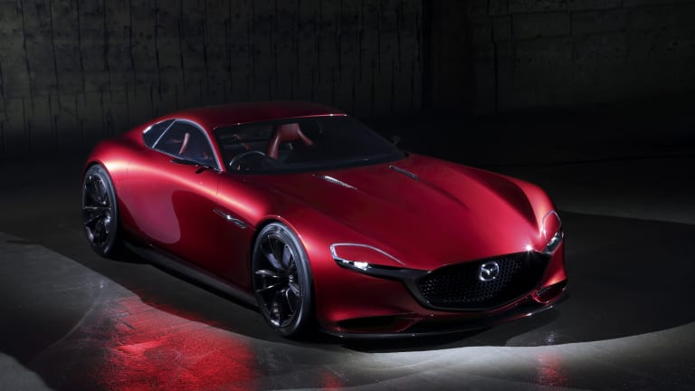 Mazda previews the return of its RX Coupe