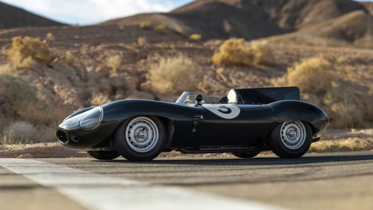 One of the most beautiful Jaguars in the world, the 1956 D-Type Works 'Long Nose'
