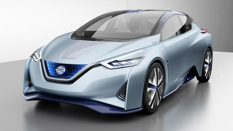 Nissan's IDS Concept previews the next-generation Leaf
