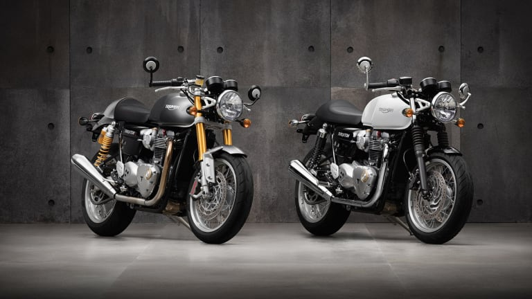 2015 Rewind | Triumph reboots a cafe racing icon with the Bonneville Thruxton