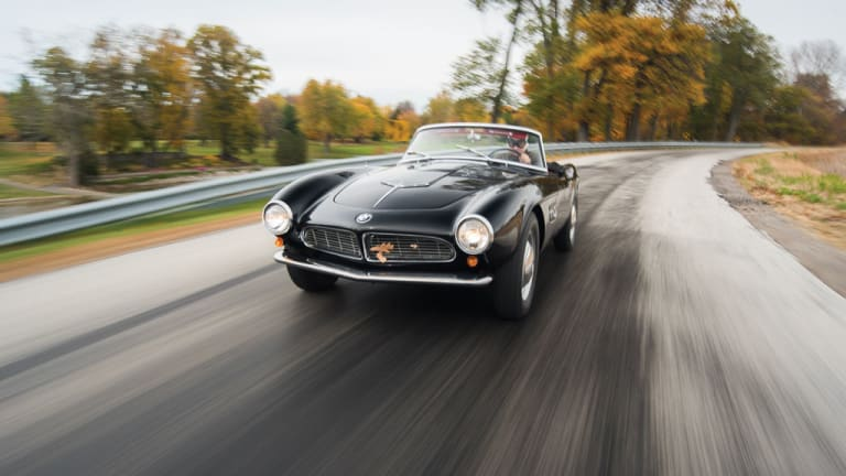 One of BMW's finest creations, the 1959 BMW 507 Roadster Series II