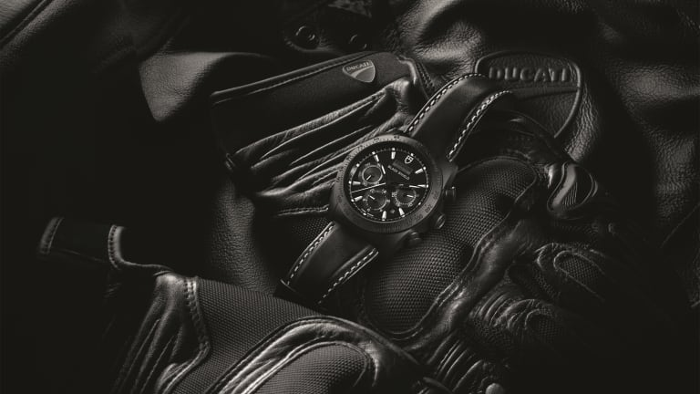 Tudor celebrates the release of the Ducati XDiavel with a new Fastrider Black Shield