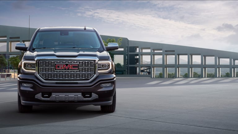 GMC ups the luxury with the Sierra Denali Ultimate