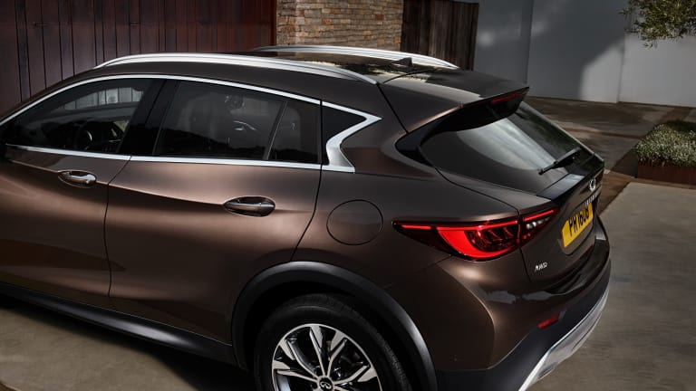 Infiniti showcases some sculptural drama with its QX30 Crossover