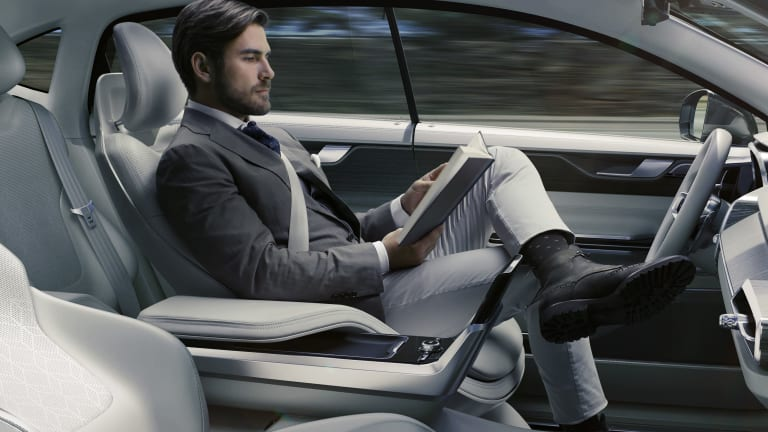 If Volvo has its way, the sci-fi car of our dreams may just become reality