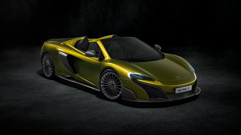 McLaren announces a drop-top version of their 675LT