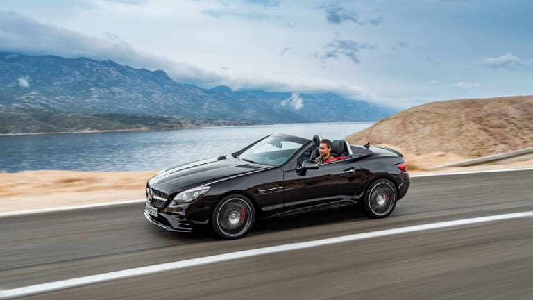 Mercedes switches engines and naming schemes with the more efficient AMG SLC43
