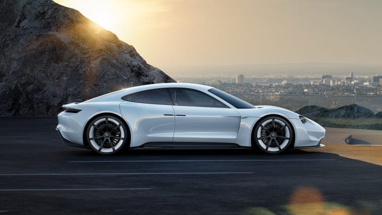 Porsche offers up a closer look at their much-anticipated Mission E