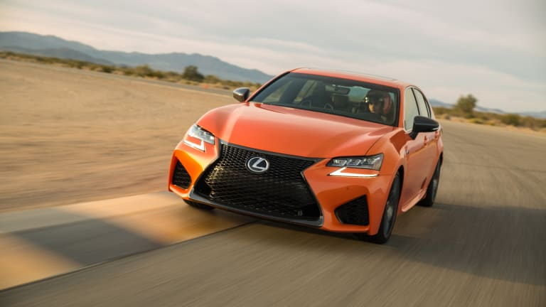 SPEC | Lexus's new sleeper, the 467-hp GS F