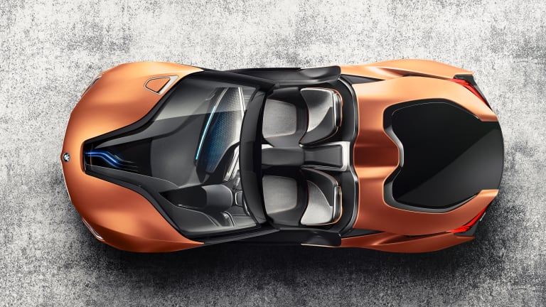 BMW shows off its latest R&D developments with two i8 concepts