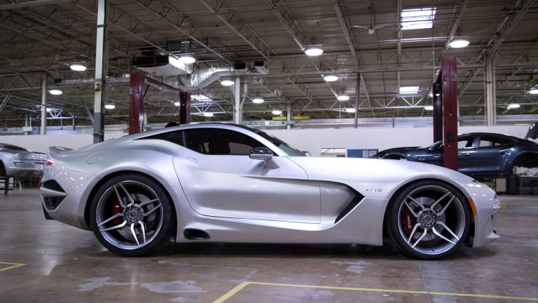 VLF Automotive reveals its V10-powered supercar, the Force 1
