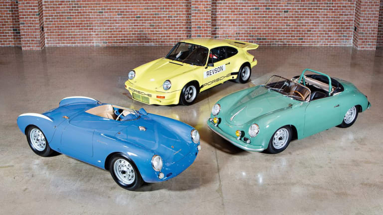 A trio of Seinfeld's almost mythical Porsches hit the auction block