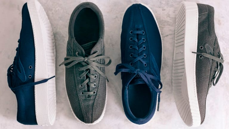 Tretorn and Club Monaco reintroduce the Nylite sneaker