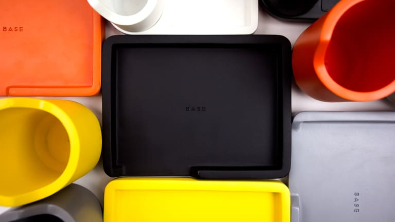 BASE's colorful Valet Trays keeps your pocket contents organized