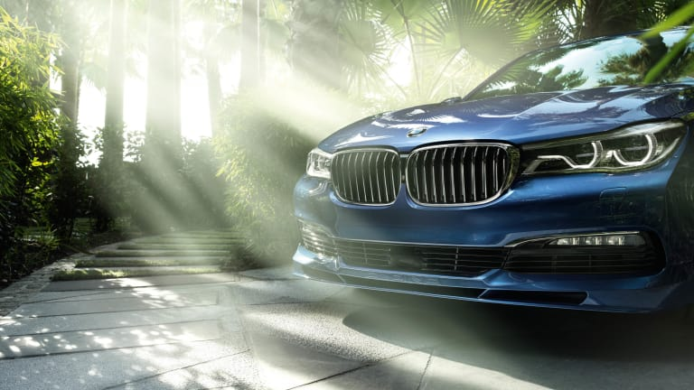 BMW's latest volley against AMG, the Alpina B7 xDrive
