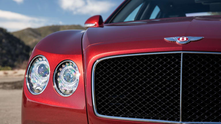 Luxury and sport come together in Bentley's new Flying Spur V8 S