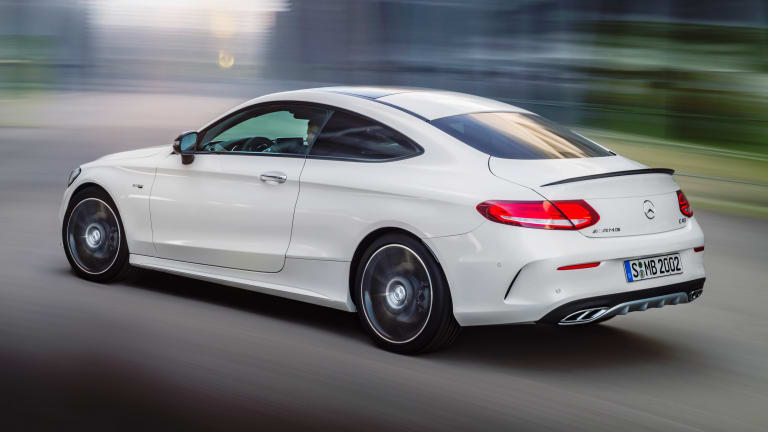 Mercedes' latest AMG brings 4Matic and a twin-turbo V6 to the C Coupe line