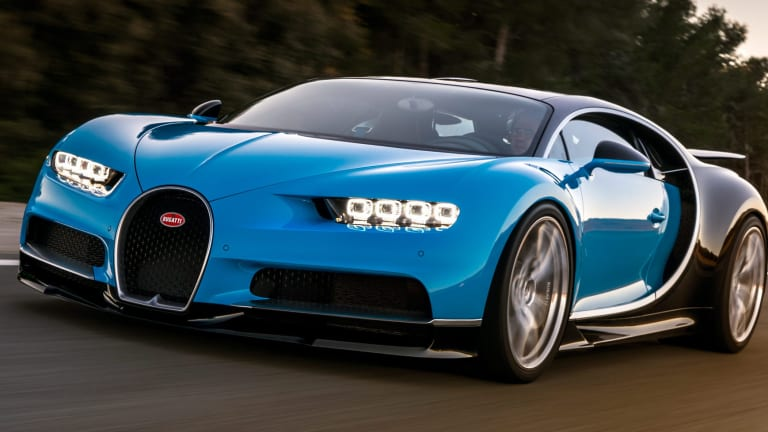 Here it is in all its glory, the 1500-hp Bugatti Chiron