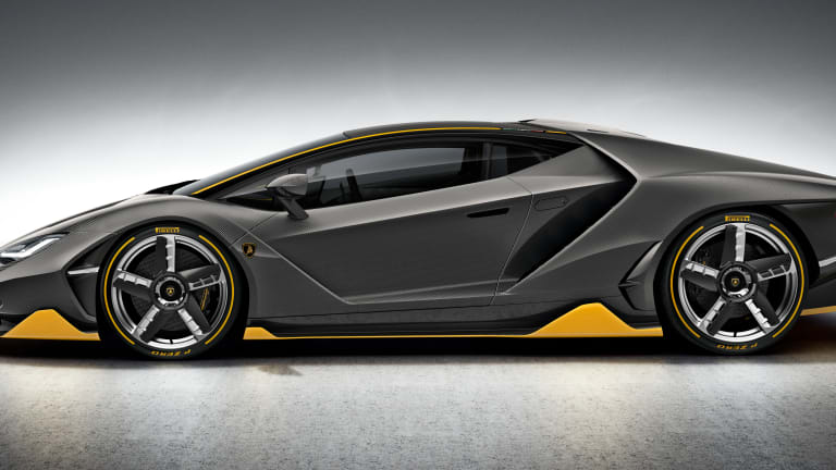 Lamborghini celebrates the 100th birthday of its founder with the Centenario