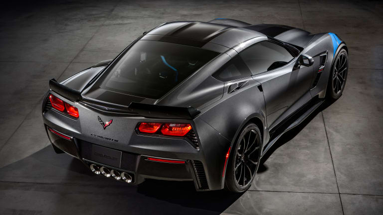 Chevrolet's racing DNA finds its way into their latest C7, the Grand Sport
