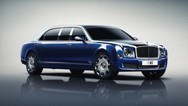 Inspired by private jets, Mulliner builds the ultimate Mulsanne Limousine