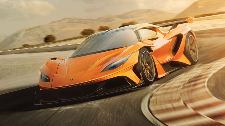 Gumpert presses reboot with the incredible Apollo Arrow