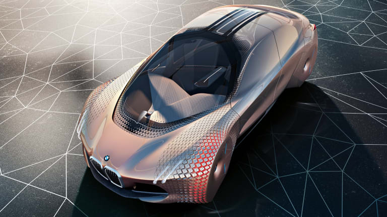 BMW celebrates its 100th anniversary and unveils what might be in store for the next 100