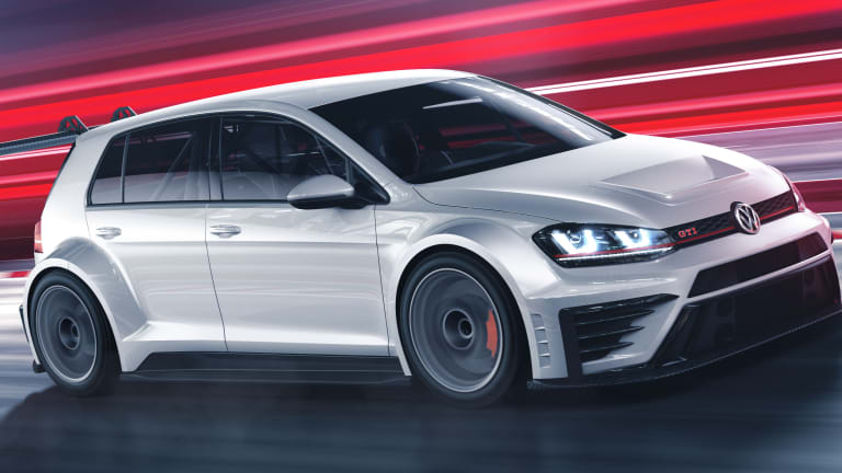 Volkswagen debuts a track-specific Golf GTI for the car's 40th birthday