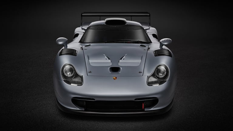 Say hello to the only known road-registered Porsche 911 GT1 Evolution in existence