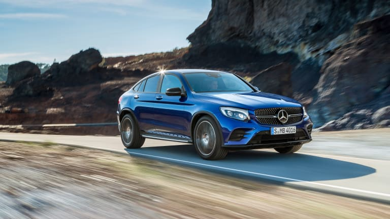 Mercedes' new X4-fighter, the GLC Coupe