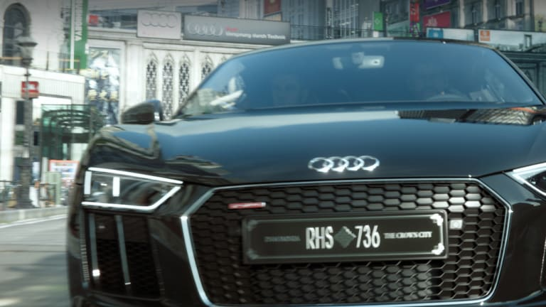 Audi Presents A One Of A Kind R8 For Final Fantasy Xv Acquire
